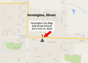 AA Meeting Map - Farmington, IL